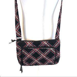 VERA BRADLEY Plaid Crossbody Bag